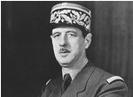 Charles de Gaulle. His Majesty sir president