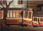 Two trams